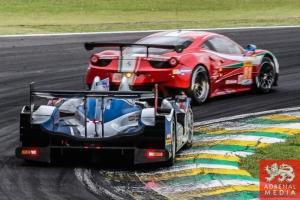 Kirill Ladygin (RUS) / Viktor Shaitar (RUS) / Anton Ladygin (RUS) / Car #37 LMP2 SMP Racing (RUS) Oreca 03R - Nissan - 6 Hours of Sao Paulo at Interlagos Circuit - Sao Paulo - Brazil