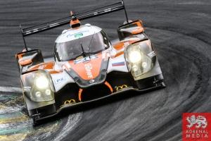 Roman Rusinov (RUS) / Olivier Pla (FRA) / Julien Canal (FRA) / Car #26 LMP2 G-Drive Racing (RUS) Ligier JS P2 - Nissan - 6 Hours of Sao Paulo at Interlagos Circuit - Sao Paulo - Brazil