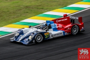 Kirill Ladygin (RUS) / Viktor Shaitar (RUS) / Anton Ladygin (RUS) / Car #37 LMP2 SMP Racing (RUS) Oreca 03R - Nissan - 6 Hours of Sao Paulo at Interlagos Circuit - Sao Paulo - Brazil