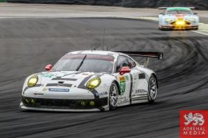 Richard Lietz (AUT) / Jorg Bergmeister (DEU) / Car #91 LMGTE PRO Porsche Team Manthey (DEU) Porsche 911 RSR - 6 Hours of Sao Paulo at Interlagos Circuit - Sao Paulo - Brazil