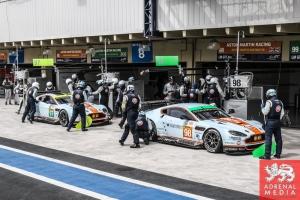 Paul Dalla Lana (CAN) / Pedro Lamy (PRT) / Christoffer Nygaard (DNK) / Car #98 LMGTE AM Aston Martin Racing (GBR) Aston Martin Vantage V8  Darren Turner (GBR) / Stefan Mucke (DEU) / Car #97 LMGTE PRO Aston Martin Racing (GBR) Aston Martin Vantage V8 - 6 H