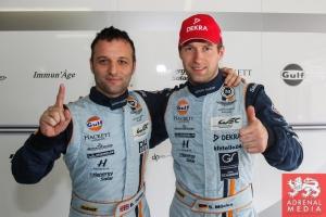 Darren Turner (GBR) / Stefan Mucke (DEU) / Car #97 LMGTE PRO Aston Martin Racing (GBR) Aston Martin Vantage V8 Qualifying LMGTE Pro - 6 Hours of Sao Paulo at Interlagos Circuit - Sao Paulo - Brazil