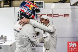Mark Webber and Timo Bernhard - 6 Hours of Sao Paulo at Interlagos Circuit - Sao Paulo - Brazil