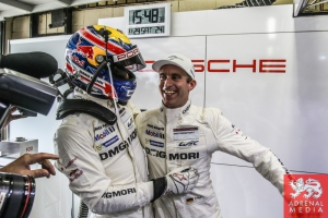 Mark Webber and Timo Bernhard - 6 Hours of Sao Paulo at Interlagos Circuit - Sao Paulo - Brazil