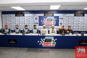 Qualifying Press Conference - 6 Hours of Sao Paulo at Interlagos Circuit - Sao Paulo - Brazil
