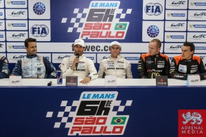 Qualifying Press Conference - 6 Hours of Sao Paulo at Interlagos Circuit - Sao Paulo - Brazil