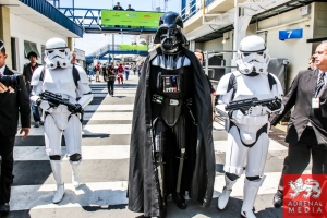 Darth Vader - 6 Hours of Sao Paulo at Interlagos Circuit - Sao Paulo - Brazil