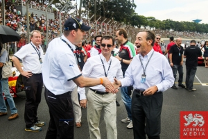 Pierre Fillon  President of ACO, Sir Lindsay Owen Jones  President of the FIA Endurance Commission - 6 Hours of Sao Paulo at Interlagos Circuit - Sao Paulo - Brazil
