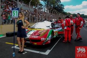 Gianmaria Bruni (ITA) / Toni Vilander (FIN) / Car #51 LMGTE PRO AF Corse (ITA) Ferrari F458 Italia - 6 Hours of Sao Paulo at Interlagos Circuit - Sao Paulo - Brazil