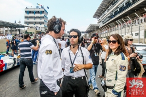 Cederic Vilatte, Benjamin Marchal and Louise Beckett - 6 Hours of Sao Paulo at Interlagos Circuit - Sao Paulo - Brazil