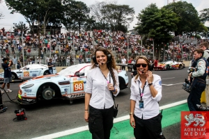 Estelle Pasteau and Ann Sophie Gruau - 6 Hours of Sao Paulo at Interlagos Circuit - Sao Paulo - Brazil