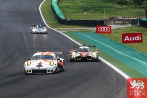 Francois Perrodo (FRA) / Emmanuel Collard (FRA) / Matthieu Vaxiviere (FRA) / Car #75 LMGTE AM Prospeed Competition (BEL) Porsche 911 GT3 RSR26 - 6 Hours of Sao Paulo at Interlagos Circuit - Sao Paulo - Brazil