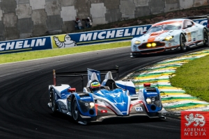 Matthew Howson (GBR) / Richard Bradley (GBR) / Alexandre Imperatori (CHE) / Car #47 LMP2 KCMG (HKG) Oreca 03R - Nissan  - 6 Hours of Sao Paulo at Interlagos Circuit - Sao Paulo - Brazil