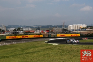 DHL Banner - 6 Hours of Sao Paulo at Interlagos Circuit - Sao Paulo - Brazil