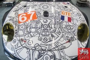 Erik Maris (FRA) / Jean-Marc Merlin (FRA) / Eric Helary (FRA) drivers of car #67 IMSA PERFORMANCE MATMUT  (FRA) Porsche 911 GT3 RSR at Circuito Estoril - Cascais - Portugal