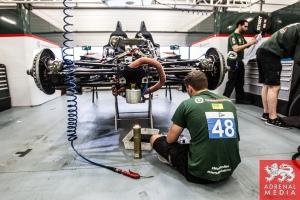 Pipo Derani (BRA) / James Littlejohn (GBR) / Anthony Wells (GBR) drivers of car #48 MURPHY PROTOTYPES  (IRL) Oreca 03R - Nissan  at Circuito Estoril - Cascais - Portugal