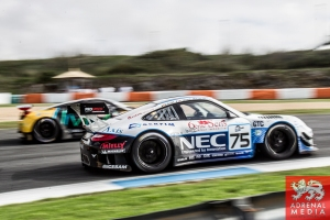 Max Van Splunteren (NLD) / Gilles Vannelet (FRA) / Maxime Soulet (BEL) drivers of car #75 PROSPEED COMPETITION  (BEL) Porsche GT3 R Free Practice 1 at Circuito Estoril - Cascais - Portugal