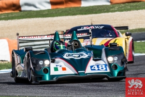 Pipo Derani (BRA) / James Littlejohn (GBR) / Anthony Wells (GBR) drivers of car #48 MURPHY PROTOTYPES  (IRL) Oreca 03R - Nissan Free Practice 1 at Circuito Estoril - Cascais - Portugal