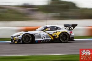 Bas Leinders (BEL) / Markus Paltalla (FIN) / Henry Hassid (FRA) drivers of car #87 BMW SPORT TROPHY MARC VDS  (BEL) BMW Z4 GT3 Free Practice 2 at Circuito Estoril - Cascais - Portugal