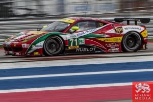Davide Rigon (ITA) / James Calado (GBR) drivers of car #71 LMGTE PRO AF Corse (ITA) Ferrari F458 Italia Free Practice #3 - FIA WEC 6 hours race of the 6 hours of the Circuit of the Americas - Austin - Texas - USA