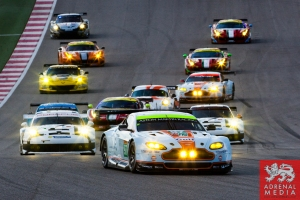 Darren Turner (FRA) / Stefan Mucke (DEU) / drivers of car #97 LMGTE PRO Aston Martin Racing (GBR) Aston Martin Vantage V8 FIA WEC 6 hours race of the 6 hours of the Circuit of the Americas - Austin - Texas - USA