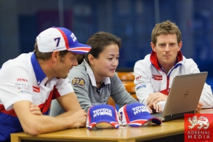 Twitter Q&A with Drivers from Toyota Racing Team at Fuji Speedway - Shizuoka Prefecture - Japan
