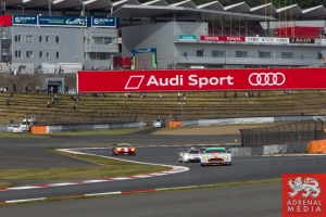 Audi Sport Banner  Free Practice 1 at Fuji Speedway - Shizuoka Prefecture - Japan