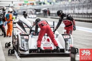 Audi Pit Lane Ambience Qualifying  at Fuji Speedway - Shizuoka Prefecture - Japan