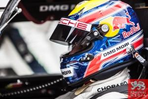 Qualifying LMP1 Mark Webber (AUS) driver of car #20 LMP1 Porsche Team (DEU) Porsche 919 Hybrid at Fuji Speedway - Shizuoka Prefecture - Japan