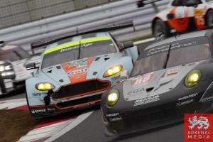 Darren Turner (FRA) / Stefan Mucke (DEU) / drivers of car #97 LMGTE PRO Aston Martin Racing (GBR) Aston Martin Vantage V8 at Fuji Speedway - Shizuoka Prefecture - Japan