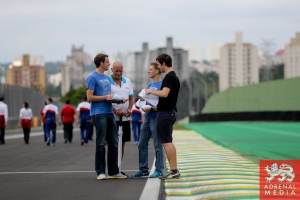 KCMG Team track Walk - 6 Hours of Sao Paulo at Interlagos Circuit - Sao Paulo - Brazil