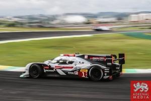 Lucas Di Grassi (BRA) / Loic Duval (FRA) / Tom Kristensen (DNK) / Car #1 LMP1 Audi Sport Team Joest (DEU) Audi R18 e-tron quattro - 6 Hours of Sao Paulo at Interlagos Circuit - Sao Paulo - Brazil