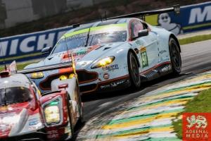 Darren Turner (GBR) / Stefan Mucke (DEU) / Car #97 LMGTE PRO Aston Martin Racing (GBR) Aston Martin Vantage V8 - 6 Hours of Sao Paulo at Interlagos Circuit - Sao Paulo - Brazil
