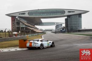 Darren Turner (FRA) / Stefan Mucke (DEU) / drivers of car #97 LMGTE PRO Aston Martin Racing (GBR) Aston Martin Vantage V8 Free Practice 1 - 6 Hours of Shanghai at Shanghai International Circuit - Shanghai - China