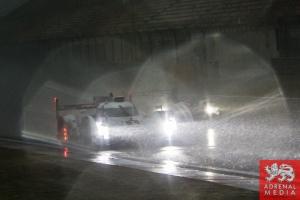 Lucas Di Grassi (BRA) / Loic Duval (FRA) / Tom Kristensen (DNK) / drivers of car #1 LMP1 Audi Sport Team Joest (DEU) Audi R18 e-tron quattro Free Practice 2 - 6 Hours of Shanghai at Shanghai International Circuit - Shanghai - China