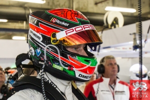 Brendon Hartley (NZL) Porsche Garage Qualifying - LMP1 & LMP2 - 6 Hours of Shanghai at Shanghai International Circuit - Shanghai - China
