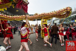Grid Ambience, Traditional Chinese Dragon, Dancers and Performers. Race - 6 Hours of Shanghai at Shanghai International Circuit - Shanghai - China