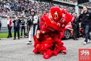 Chinese Dragon dancing grid Walk Race - 6 Hours of Shanghai at Shanghai International Circuit - Shanghai - China