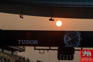 Sun going down in the pit lane Race - 6 Hours of Shanghai at Shanghai International Circuit - Shanghai - China
