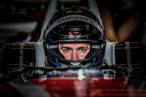 23 Nick Heidfeld (DEU) Mahindra Racing Formula E Team FormulaE Test Day Donnington Park 10th August 2015 Photo: - Richard Washbrooke Photography