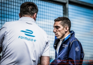 9 Sebastien Buemi (CHE) Renault e.Dams FormulaE Test Day Donnington Park 10th August 2015 Photo: - Richard Washbrooke Photography