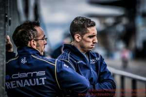 9 Sebastien Buemi (CHE) Renault e.Dams FormulaE Test Day Donnington Park 10th August 2015 Photo: - Richard Washbrooke Photography