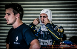 9 Sebastien Buemi (CHE) Renault e.Dams FormulaE Test Day Donnington Park 10th August 2015 Photo: - Richard Washbrooke Photography6