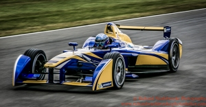 8 Nicolas Prost (FRA) Renault e.Dams FormulaE Test Day Donnington Park 10th August 2015 Photo: - Richard Washbrooke Photography