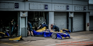 9 Sebastien Buemi (CHE) Renault e.Dams FormulaE Test Day Donington Park 11th August 2015 Photo: - Richard Washbrooke Photography