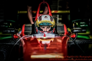 66 Daniel Abt (DEU) ABT Schaeffler Audi Sport FormulaE Test Day Donington Park 11th August 2015 Photo: - Richard Washbrooke Photography