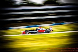 23 Nick Heidfeld (DEU) Mahindra Racing Formula E team FormulaE Test Day Donington Park 11th August 2015 Photo: - Richard Washbrooke Photography
