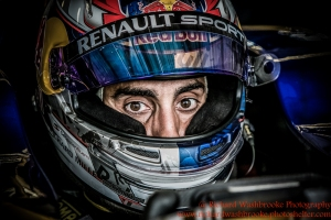 9 Sebastien Buemi (CHE) Renault e.Dams Formula E Test Day Donington 17th August 2015 Raw Photo: - Richard Washbrooke Photography