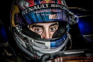 9 Sebastien Buemi (CHE) Renault e.Dams Formula E Test Day Donington 17th August 2015 Raw Photo: - Richard Washbrooke Photography