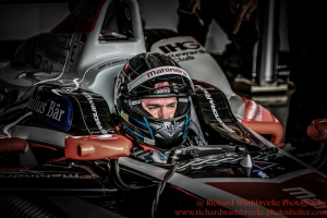 23 Nick Heidfeld (DEU) Mahindra Racing Formula E Team Formula E Test Day Donington 17th August 2015 Raw Photo: - Richard Washbrooke Photography
